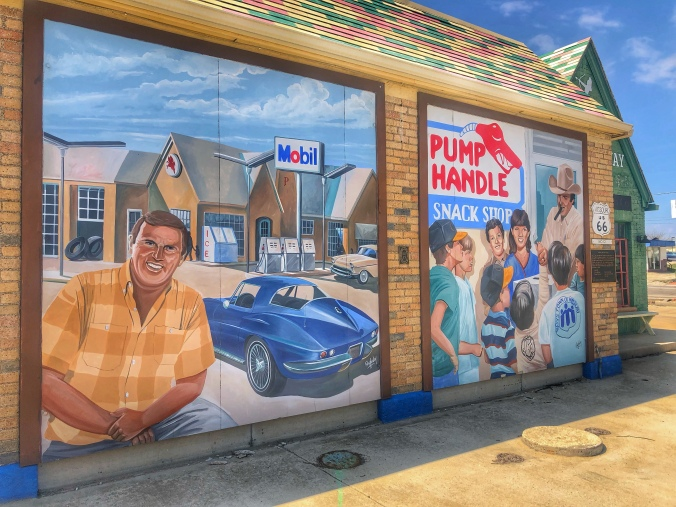 The FourWay Mural / Oh Fiddle Dee Dee