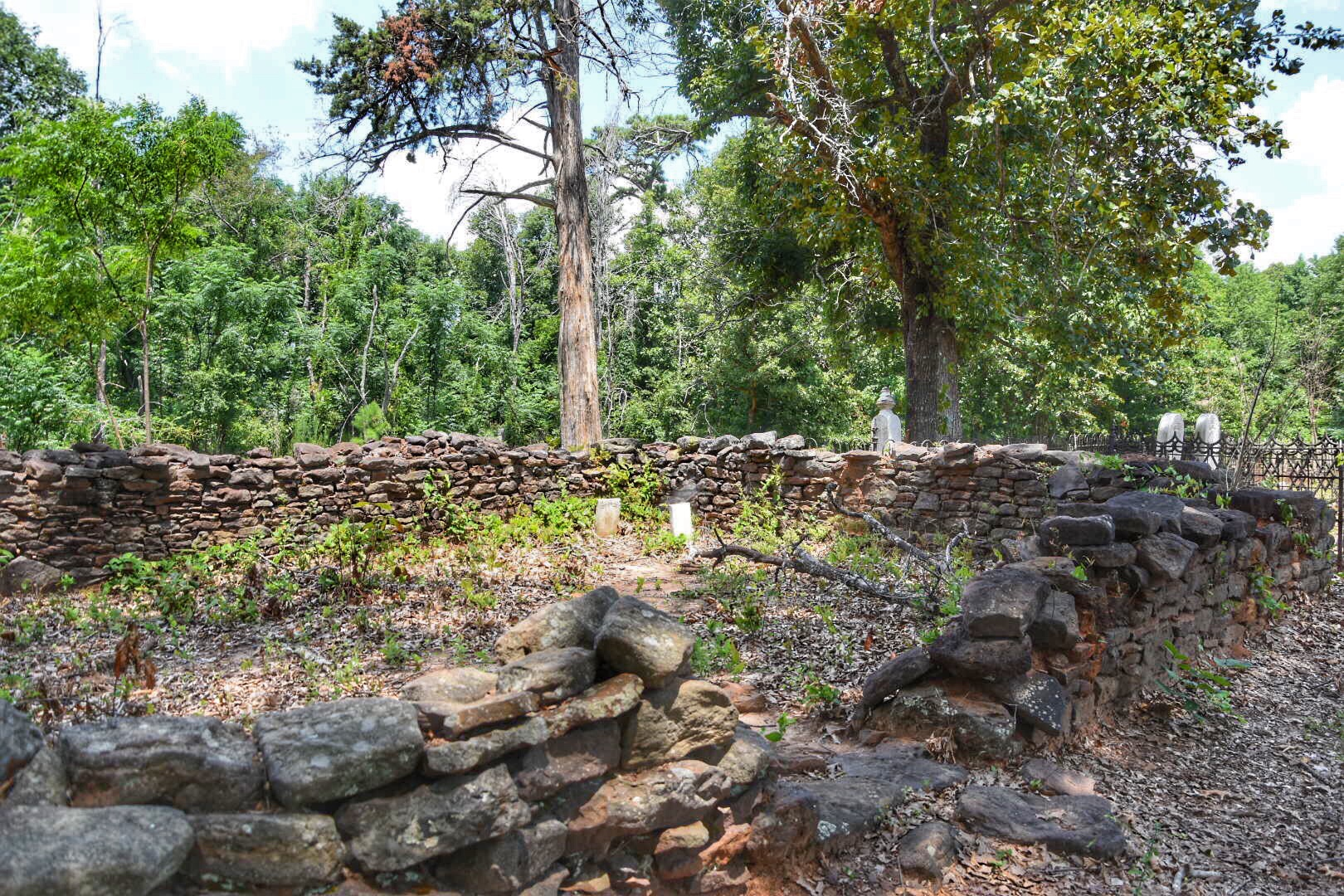 Cemetery at Providence Canyon / Oh FIddle Dee Dee