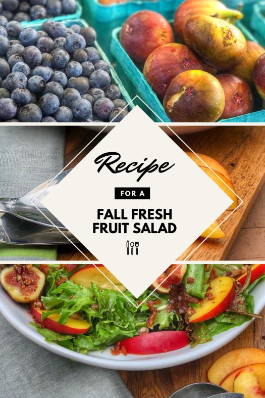 Fall Fresh Fruit Salad